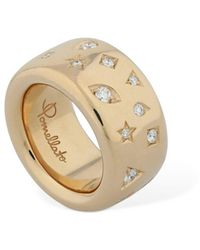 Pomellato Iconica 18kt Rose Gold & Diamond Ring - Metallic
