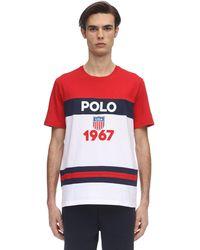 Polo Ralph Lauren コットンジャージーtシャツ - レッド