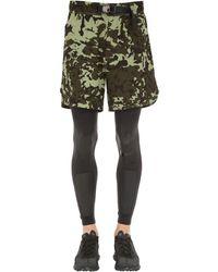 Nike Matthew Williams ショートパンツ&ストレッチタイツ - グリーン