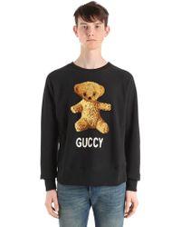 Gucci - Heavy Cotton Jersey Sweatshirt - Lyst