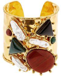 Sylvia Toledano - Manchtte Artsty Cuff Quartz Bracelet - Lyst