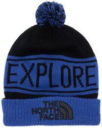 The North Face Retro Tnf Pom ビーニー帽 - ブルー