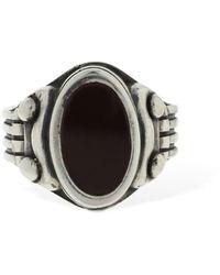 Cantini Mc Firenze Impero Oval Ring - Metallic