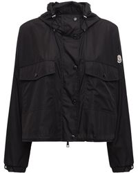 Moncler Primagiedi Hooded Technic Jacket - Black