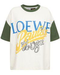 Loewe Paula's Ibiza コットンジャージーtシャツ - マルチカラー