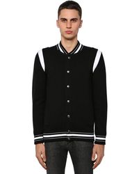Givenchy 4g Embroidered Bomber Jacket - Black