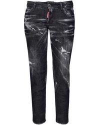 "DSquared² Jeans Aus Baumwolldenim ""jennifer"" - Schwarz"