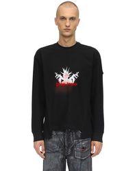 Moncler Genius Palm Angels コットンジャージーロングtシャツ - ホワイト