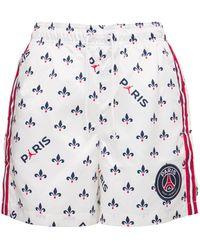 Nike Jordan Printed Shorts - White