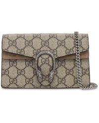 Gucci Super Mini Dionysus Gg Supreme Bag - Multicolour