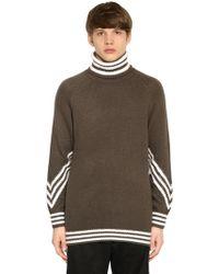 adidas Originals 3stripes Turtleneck Sweater - Green