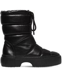 Agl Attilio Giusti Leombruni - 50mm Padded Leather Midi Boots - Lyst