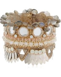 Deepa Gurnani - Bina Cuff Bracelet - Lyst