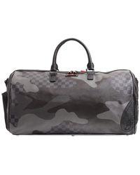 Sprayground 3am Never Sleep Carry Duffle Bag - Black