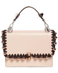 Fendi - Medium Kan Leather Bag - Lyst