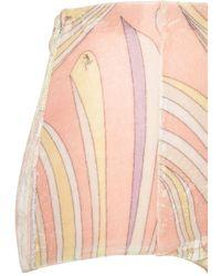 Emilio Pucci Шорты С Высокой Посадкой - Многоцветный