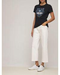 "Philippe Model Кроссовки Из Кожи И Замши ""paris"" - Белый"