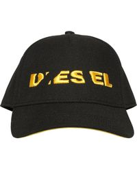 DIESEL - Cappello Baseball In Twill - Lyst
