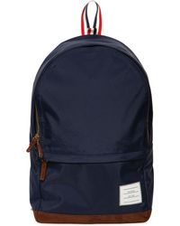 Thom Browne - Soft Tech Nylon & Suede Backpack - Lyst