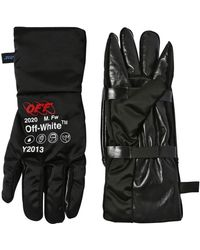Off-White c/o Virgil Abloh Techno Pouch Gloves - Black