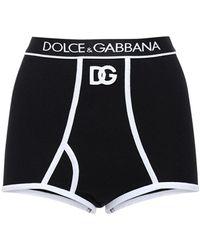 Dolce & Gabbana Трусы Из Хлопка С Логотипом - Черный