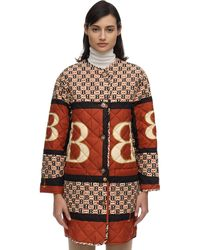 Burberry Archive Scarf Print Diamond Quilted Coat - Mehrfarbig
