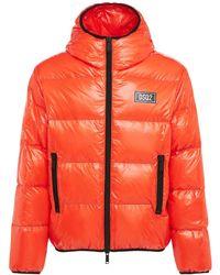 DSquared² Куртка Из Нейлона На Пуху - Оранжевый