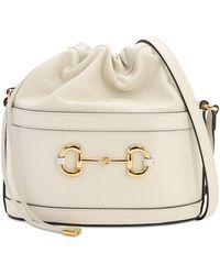 Gucci - 1955 Horsebit Azalea レザーバッグ - Lyst