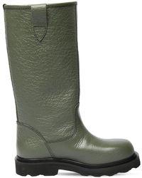 Marni Кожаные Сапоги 20mm - Зеленый