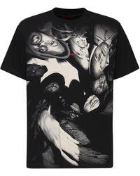 424 - コットンtシャツ - Lyst