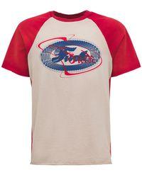 Alchemist Camiseta Baseball De Algodón - Multicolor