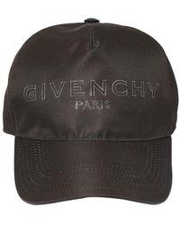 Givenchy Бейсбольная Кепка Из Нейлона С Логотипом - Черный