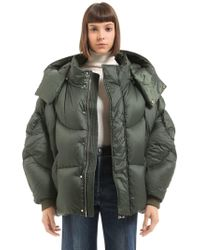 Chen Peng - Oversized Hooded Puffer Down Jacket - Lyst