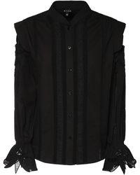 Etro コットンポプリンシャツ - ブラック