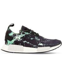adidas Originals - Nmd_r1 Marble-print Primeknit Sneakers - Lyst