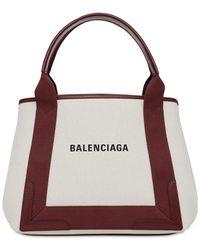 Balenciaga Navy キャンバスバッグ - マルチカラー