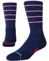 """Stance Socken Aus Nylonmischung """"independence Crew"""" - Blau"""