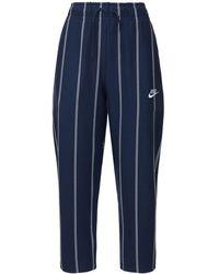 Nike コットンジャージーパンツ - ブルー