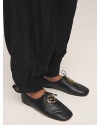 Loewe Туфли Из Кожи 10mm - Черный