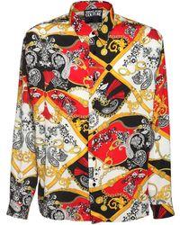 Versace Jeans Couture ビスコースシャツ - マルチカラー