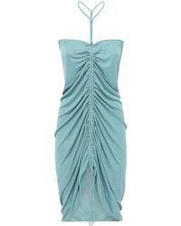 Bottega Veneta - ビスコースニットドレス - Lyst