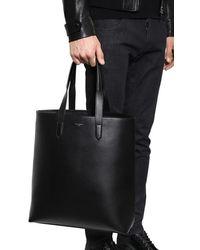 Dolce & Gabbana Tote Aus Leder Mit Logo - Schwarz