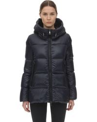 Moncler Seritte Nylon Down Jacket - Blue