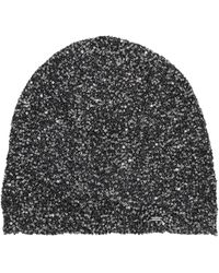 Saint Laurent Bonnet En Sequins - Métallisé