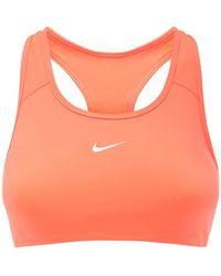 Nike Sport-bh Mit Mittlerer Stüztung - Orange