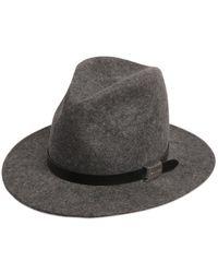 DSquared² - Logo Hatband Detail Wool Felt Hat - Lyst
