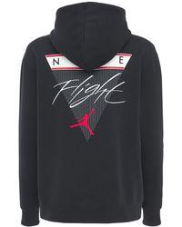 "Nike Hoodie Aus Fleece ""jordan"" - Schwarz"