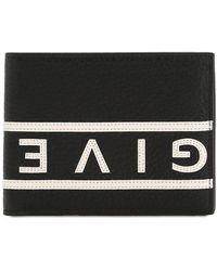 Givenchy Portemonnaie mit Logo - Schwarz