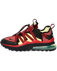 Nike - Red And Black Air Max 270 Bowfin Sneakers - Lyst