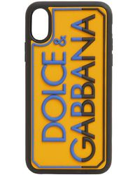Dolce & Gabbana Чехол Для Iphone X/xs С Логотипом - Черный